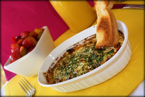 Ina's Herbed Baked Eggs