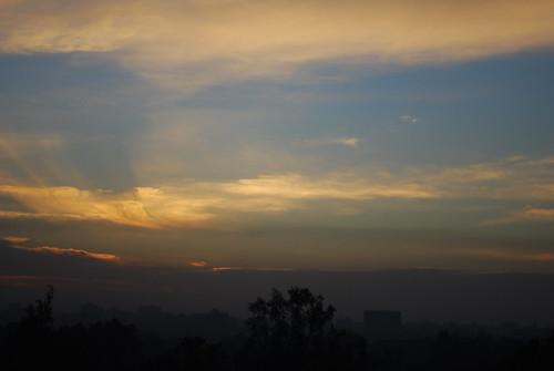 morning house sunrise dawn view egypt cairo giza mena oberoi menahouse