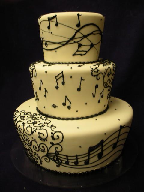 Saxophone Cake Ideas