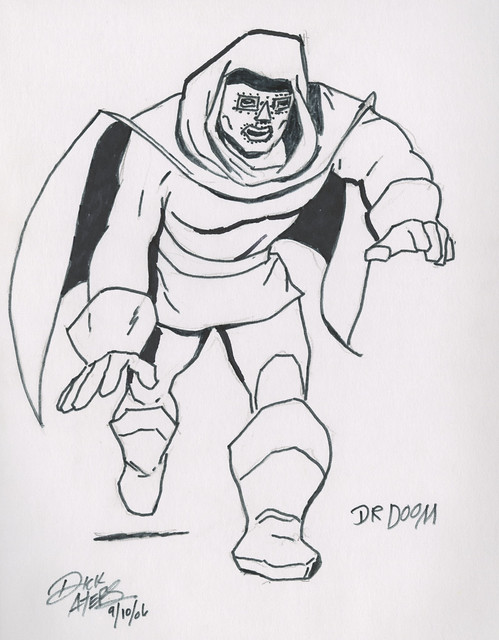 Dr. Doom by Dick Ayers