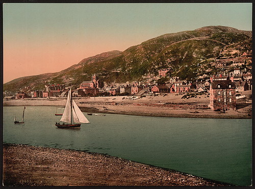 [From island, Barmouth, Wales] (LOC)