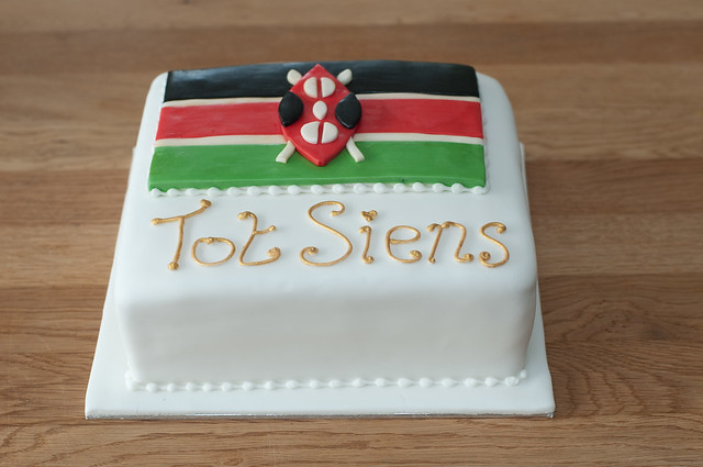 Kenyan Flag Cake | Flickr - Photo Sharing!