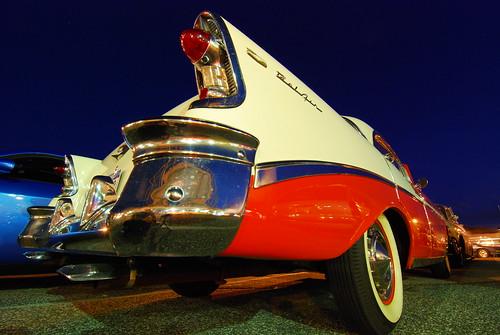 ny classic car night twilight classiccar nightshot dusk bluehour bellmore gorillapod nikond80 tokina1116 kstraw2