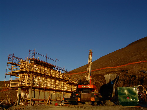 Constructing Entrance of the Seed Vault