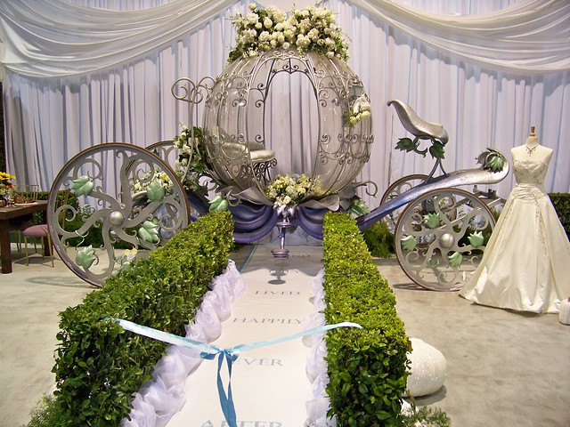 Cinderella Carriage Wedding Cake Toppers