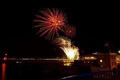 Fireworks in Nice