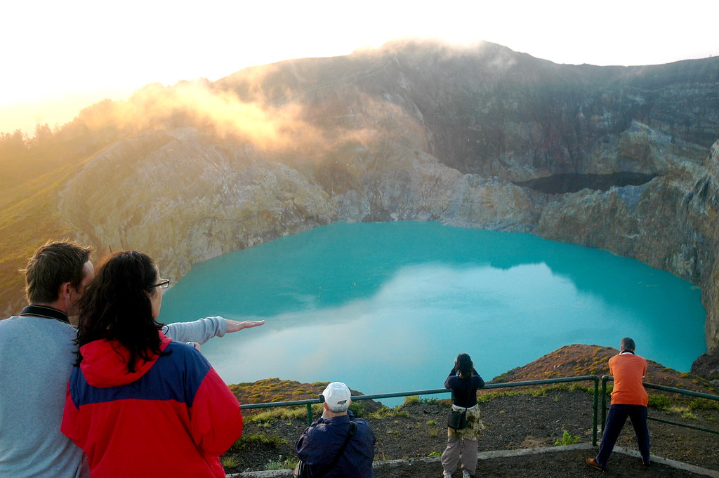 Turquoise Lake of Kelimutu - Komodo, Indonesia