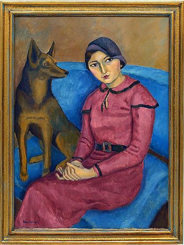 Nina Arbore - Pupil of Matisse