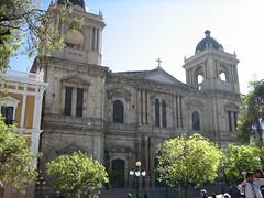 Plaza Murillo : la cathédrale