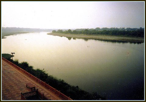 River Yamuna-the tears of love!