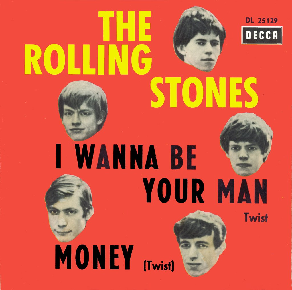 Rolling Stones The I Wanna Be Your Man D 1964 A