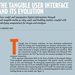 THE TANGIBLE USER INTERFACE AND ITS EVOLUTION  BY HIROSHI ISHII | p32-ishii.pdf (page 1 of 5)