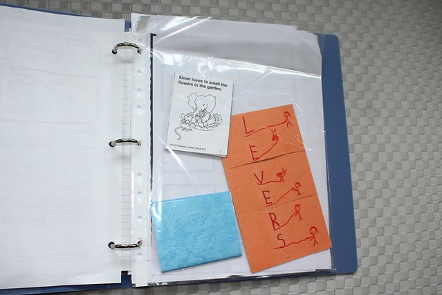 lever minibooks in sheet protector (4)
