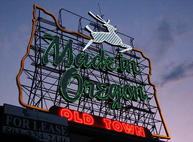 White Satin - White Stag - Made in Oregon - ?