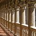 Las Dueñas upper cloister by Lawrence OP