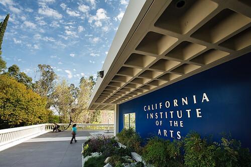 Calarts campus view of the front of calarts campus cia for Designers art of california