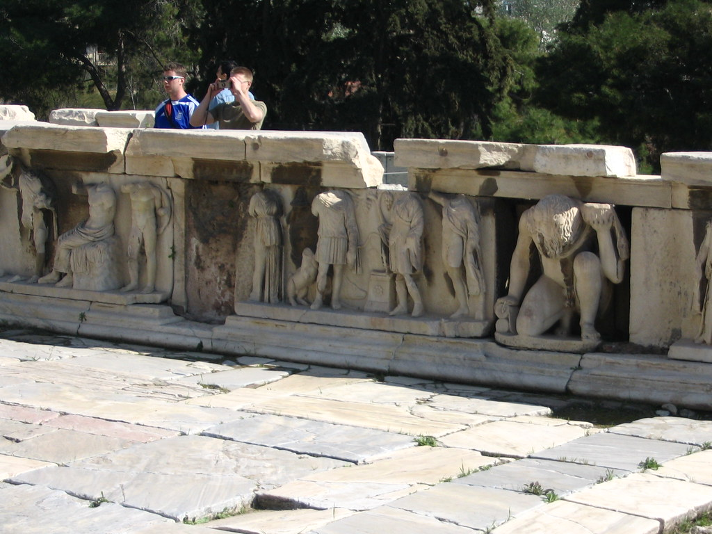 Stage Frieze-Theatre Of Dionysus-D