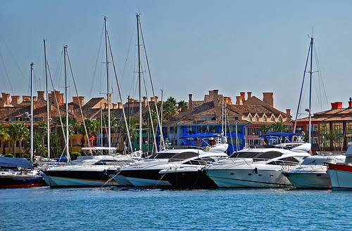 Boats in Sotogrande