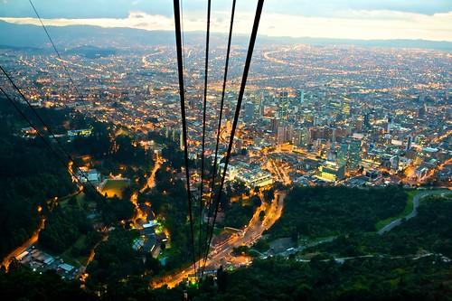 Bogota nightlights