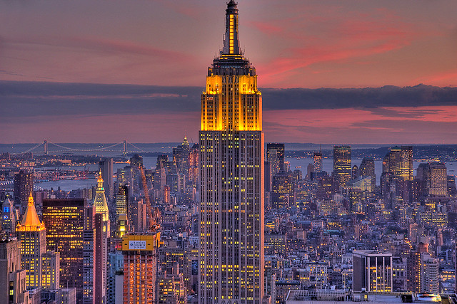 Empire State Building at Sunset | Flickr - Photo Sharing!