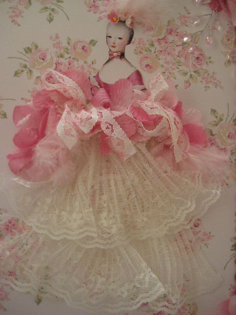 Marie in Pink & Lace Page
