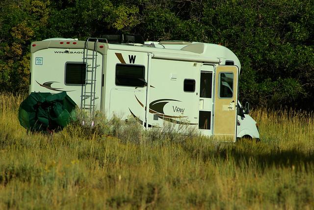 Winnebago View Class C motorhome, Mesa Verde National Park, Colorado, September 15, 2009
