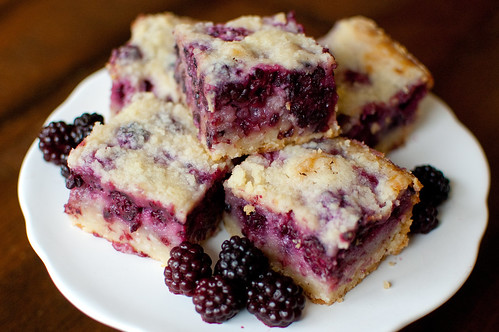 Pink Parsley Ppq Blackberry Pie Bars