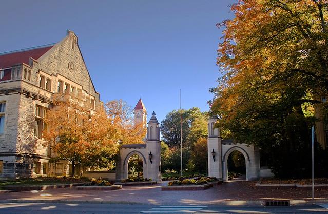 indiana university sample gates bloomington in flickr