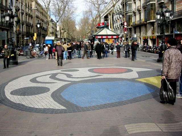 Las Ramblas, Barcellona