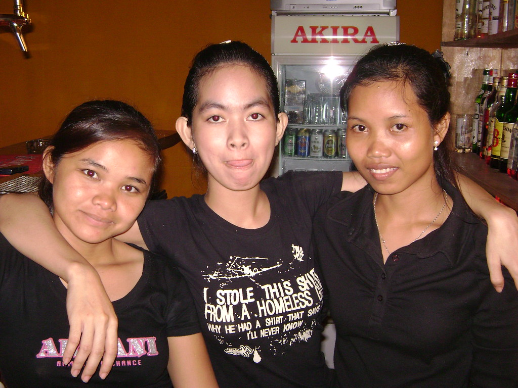 Easier cambodian bar girl photos