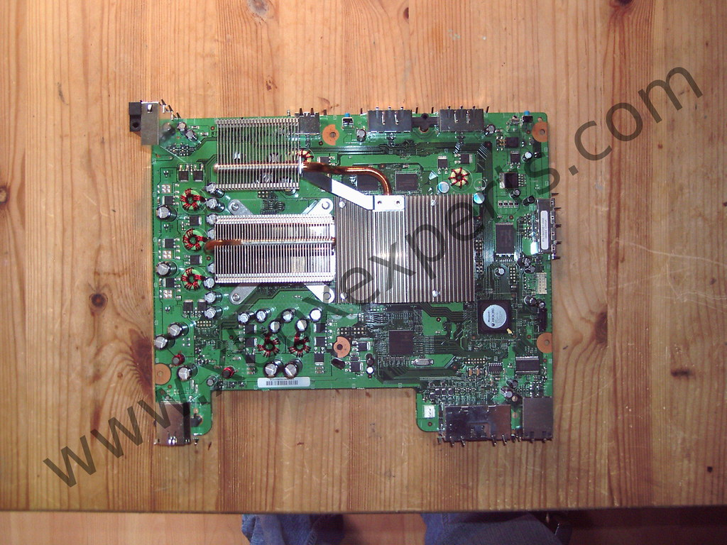 Interesting Flickr Photos Tagged E74 Picssr Xbox Motherboard 360 With Heatsinks On