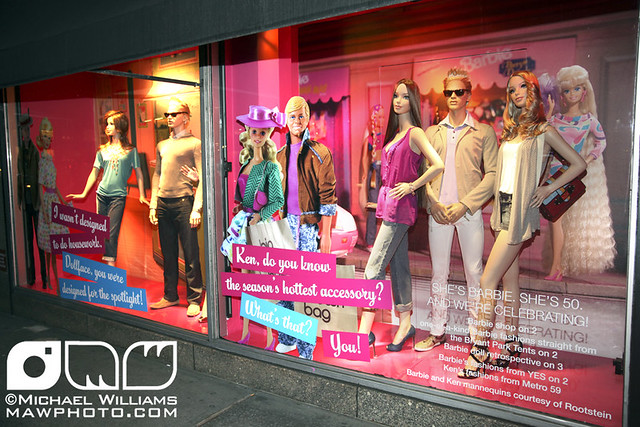 Robert Best Signing at Bloomingdales Barbie Store a gallery on