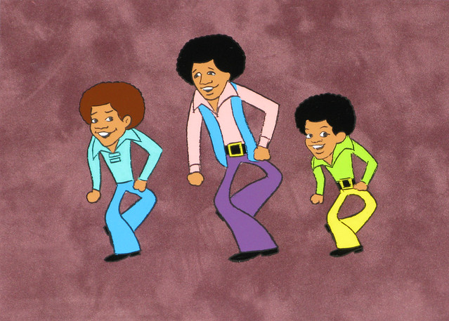 Jackson 5 Dance Sequence