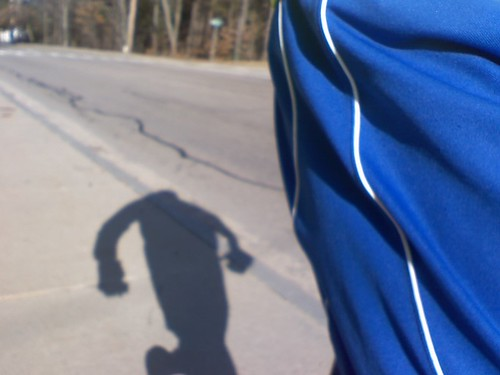 This headless shadow was chasing me