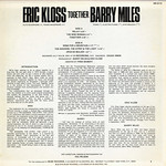 Eric Kloss & Barry Miles: Together [back liner]