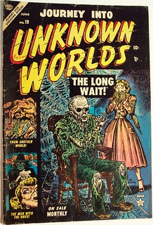 Vintage Comic Book - Journey into Unknown Worlds #19