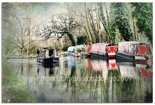 Sunday afternoon on the canal