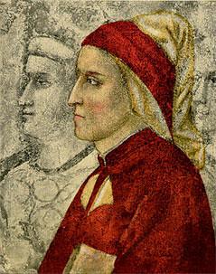 Young Dante Alighieri, Studio of Giotto