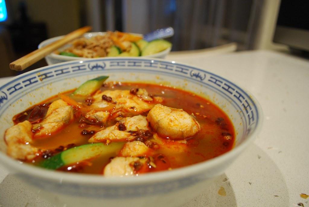 Shuizhu Yu - Spicy Fish Noodles