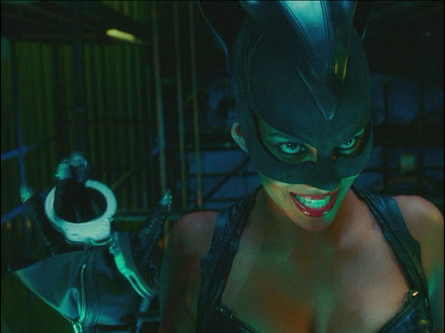 Halle Berry -- Catwoman  A Screencap From The Movie -5925