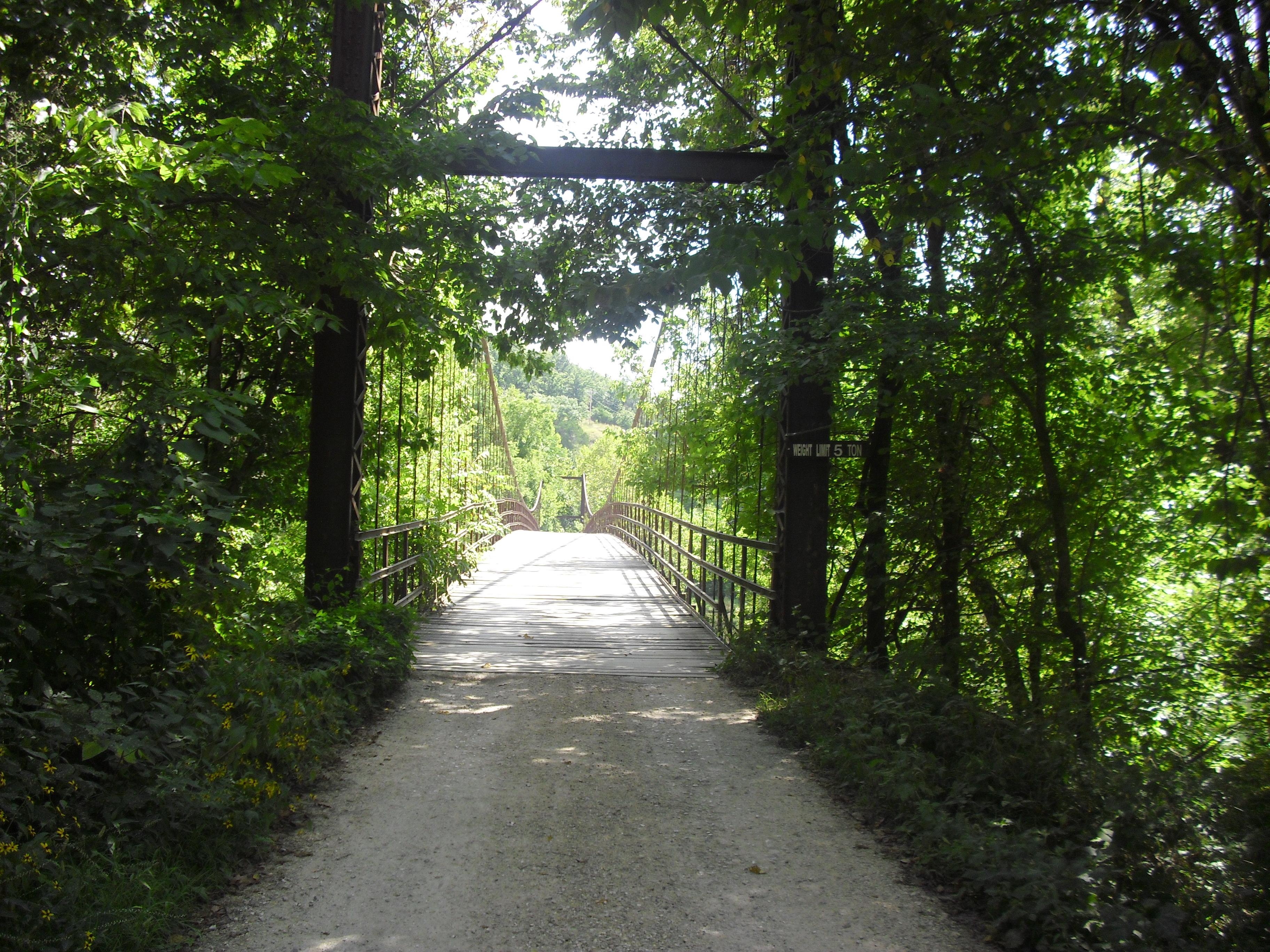 auglaize swinging bridge