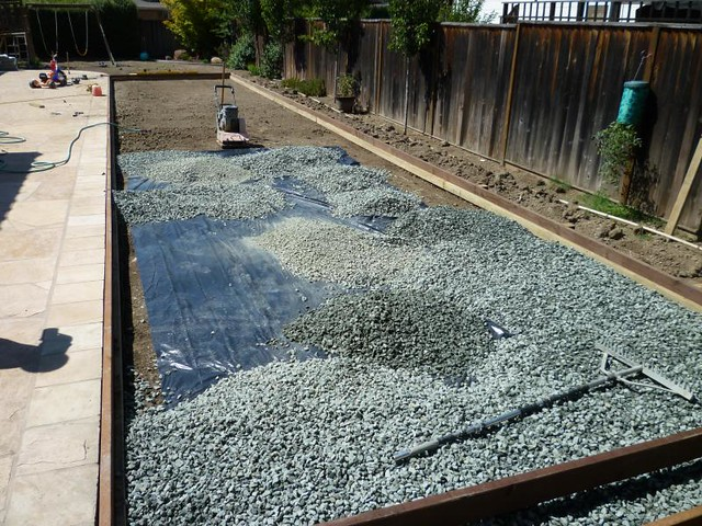 Backyard Bocce Ball Court Construction : Walnut Creek Bocce Ball Court Install  Flickr  Photo Sharing!