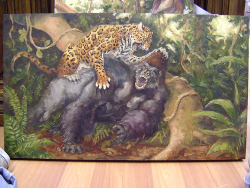 Image Gallery mountain gorilla vs leopard