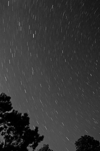 trees sunset lake water night blackhills stars dam pinetrees pactola