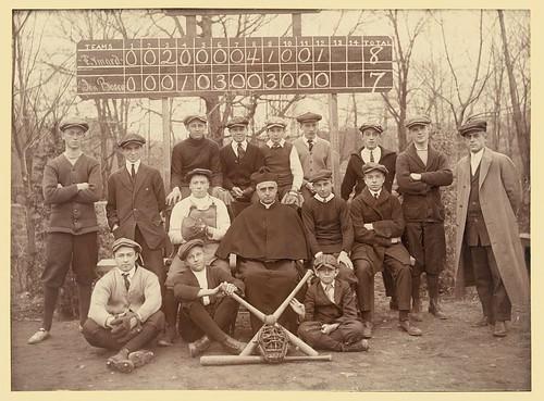Baseball team, Eymard Seminary, Suffern, N.Y. (LOC)