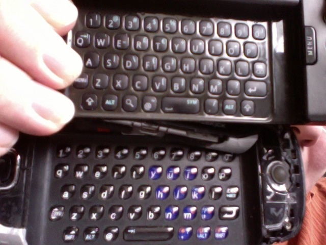G1 + Sidekick keyboards compared