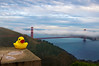 I left my heart in San Francisco, above the blue and windy sea by pixelmama