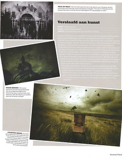 "Publication ""Advanced Photoshop"" magazine"