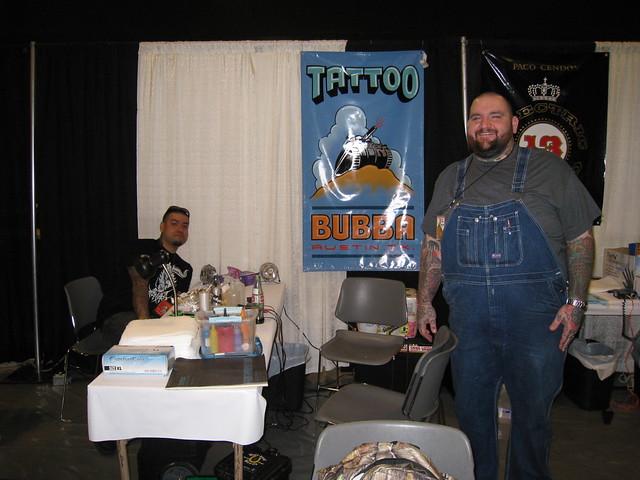 Bubba @ Star of Texas Tattoo Art Revival 2009