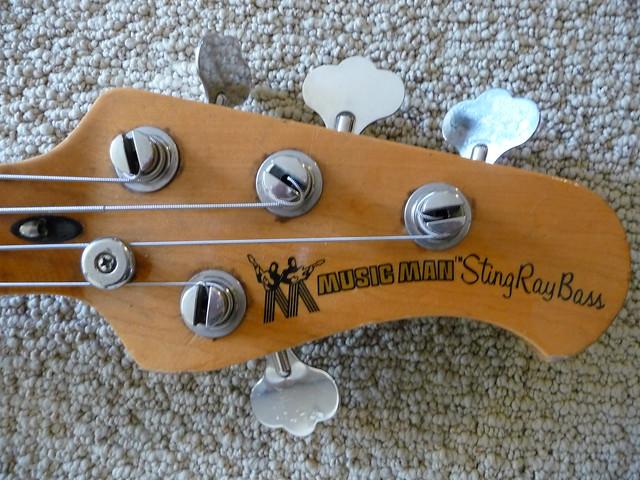 Photo:MM Stingray Headstock By Roadside Guitars